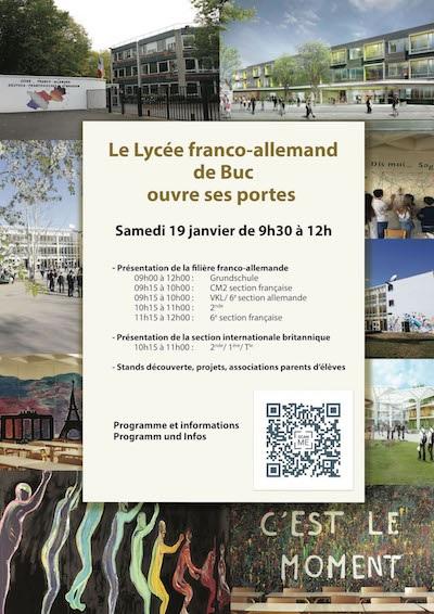 Portes Ouvertes du Lycée franco-allemand de Buc