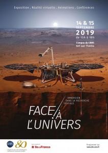 Face à l'Univers : immersion dans la recherche spatiale