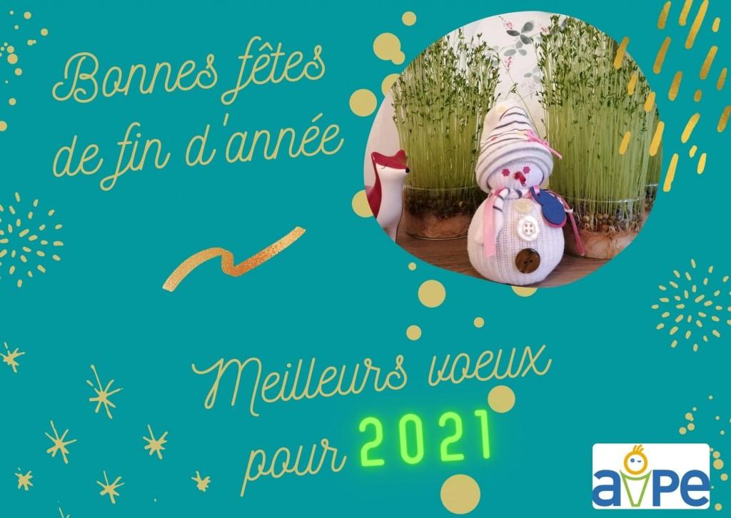 AIPE - Bonnes fêtes de fin d'année - 2021
