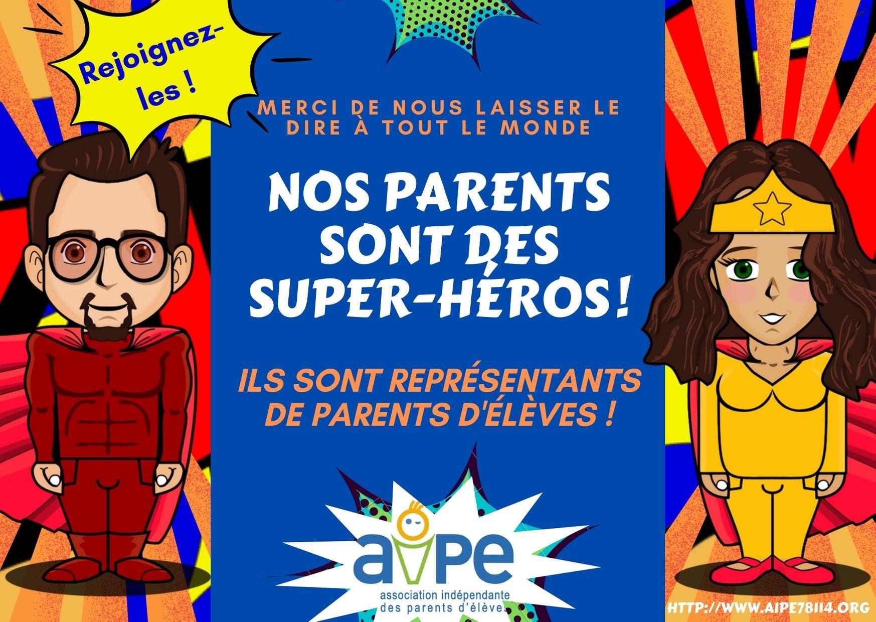 AIPE - super-héros