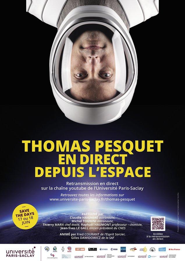 Thomas Pesquet en direct depuis l'espace